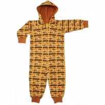 DUNS Buses & Cars Lined Hooded Suit