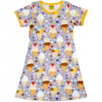 DUNS Ice Cream Lavender SS Dress