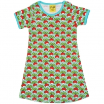DUNS Pale Turquoise Radish SS Dress
