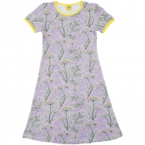 DUNS Violet Dill SS Dress