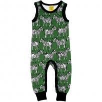 DUNS Green Zebra Dungarees