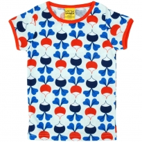 DUNS Blue Big Radish SS Top