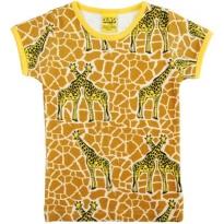 Duns Sweden Short Sleeve Top - Giraffe