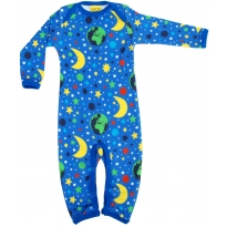 Duns Sweden Long Sleeve Suit - Mother Earth Blue