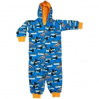 DUNS Blue Duck Pond Lined Hooded Suit