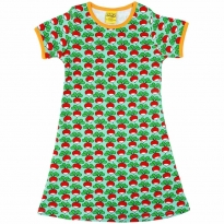DUNS Adult Mint Radish A-Line SS Dress