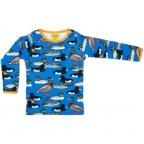 DUNS Blue Duck Pond LS Top