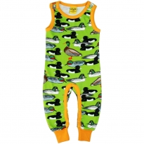 DUNS Flash Green Duck Pond Dungarees