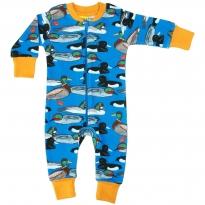 DUNS Blue Duck Pond LS Zip Suit