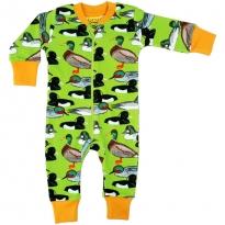 DUNS Flash Green Duck Pond LS Zip Suit