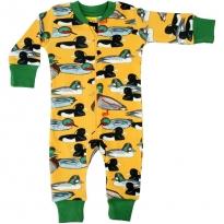 DUNS Mustard Duck Pond LS Zip Suit