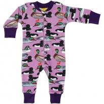 DUNS Violet Duck Pond LS Zip Suit