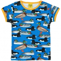 DUNS Adult Blue Duck Pond SS Top