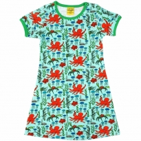 DUNS Mint Octopus SS Dress