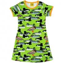 DUNS Flash Green Duck Pond SS Dress