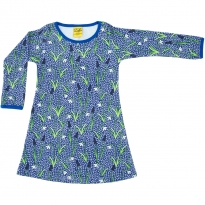 DUNS Blue Snowdrop LS Basic Dress