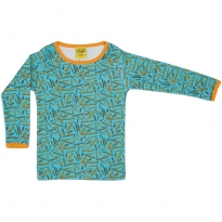 DUNS Turquoise Pencils LS Top