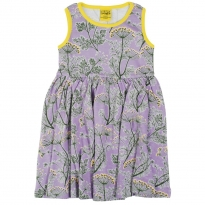 DUNS Violet Dill Sleeveless Gathered Dress