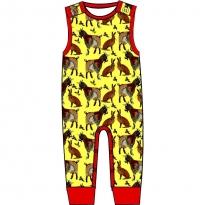 DUNS Yellow Goat Dungarees