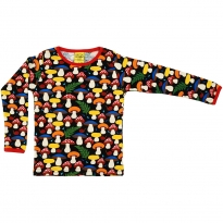 DUNS Black Mushrooms LS Top