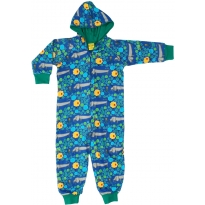 DUNS Blue A Dog's Life Lined Hooded Suit