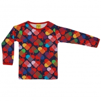 DUNS Blue Hearts LS Top