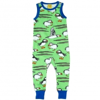 DUNS Green Puffin Zip Suit