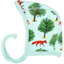 DUNS Jade Fox & Tree Baby Bonnet