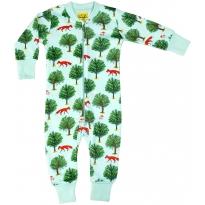 DUNS Jade Fox & Tree Zip Suit
