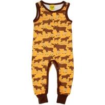 DUNS Mustard Moose Dungarees
