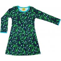 DUNS Blue Pea LS Dress