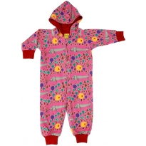 DUNS Red A Dog's Life Lined Hooded Suit