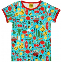 DUNS Adult Red Park Life SS Top