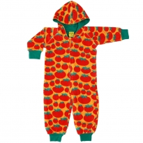 DUNS Tomatoes Velour Lined Hooded Suit