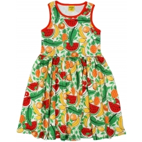 DUNS Adult White Tropical Punch Dress