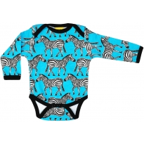 DUNS Turquoise Zebra LS Body
