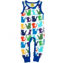 DUNS White Cats Dungarees