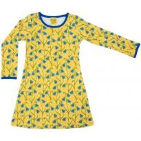 DUNS Yellow Bluebells LS Dress
