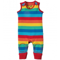 Frugi Rainbow Kneepatch Dungarees