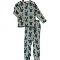 Maxomorra Beetle LS Pyjamas