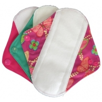 Earthwise Small Menstrual Pads - Panty Liner 3 Pack
