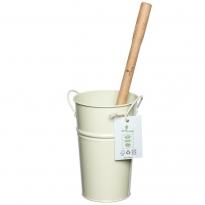 Ecoliving Toilet Brush Holder - Cream
