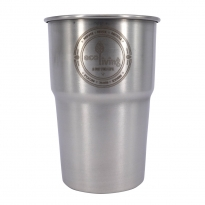 EcoLiving British Stainless Steel Cup - UK Pint (Single Cup)