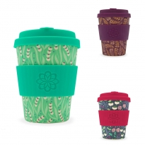 Ecoffee Cup 12oz Tiny Garden Coffee Cup