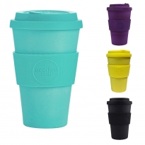 Ecoffee Cup Large 14oz Bamboo Coffee Cup - Colours