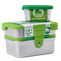 ECOlunchbox 3-In-1 Splash Box - 13oz, 14oz, 5oz