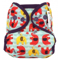 Pop-in Popper Babipur Elephant Nappy