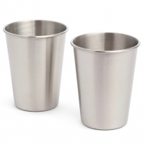 Elephant Box 350ml Stainless Steel Cup - 2 Pack