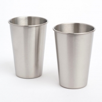 Elephant Box 500ml Stainless Steel Cup - 2 Pack