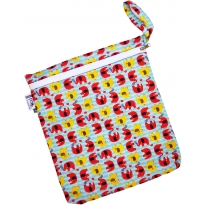 Babipur Elephant Zip Wet Bag